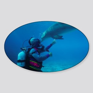 Diver communication system - Sticker (Oval)