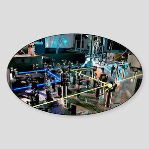 Flash photolysis equipment - Sticker (Oval)