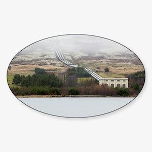 land - Sticker (Oval)