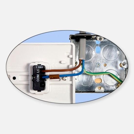 One-way light switch - Sticker (Oval)