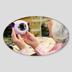 Pill pet - Sticker (Oval)