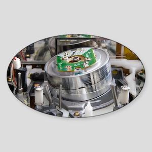 VCR head drum - Sticker (Oval)