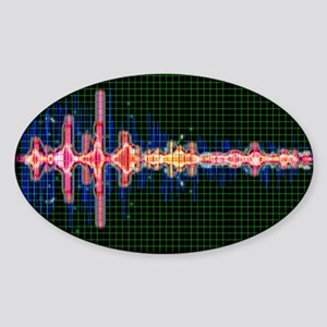 Voice recognition - Sticker (Oval)
