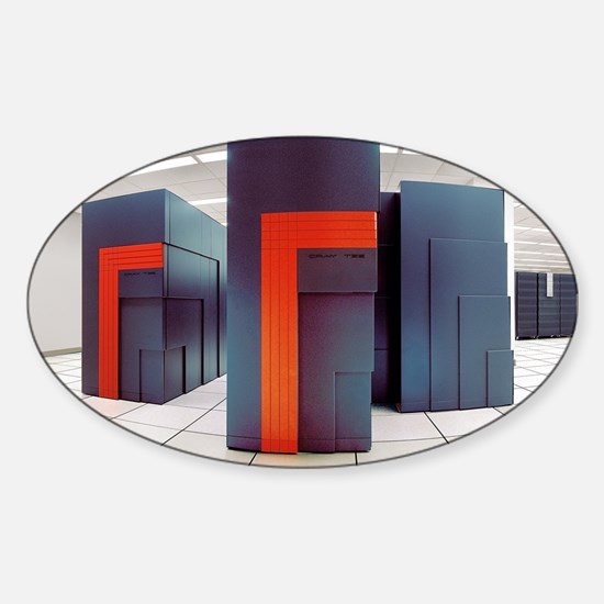 NERSC supercomputers - Sticker (Oval)