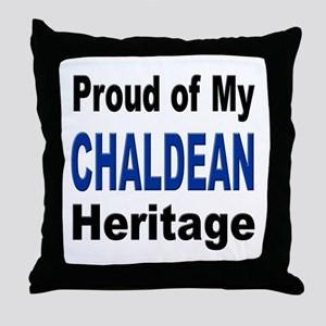 Proud Chaldean Heritage Throw Pillow