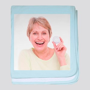 Hormone replacement therapy pills - Baby Blanket