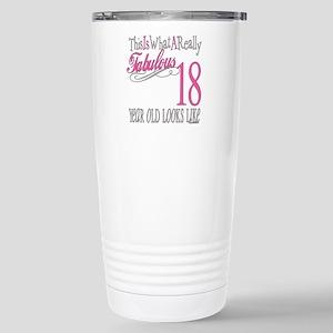 Fabulous 18th Biirthday Stainless Steel Mugs