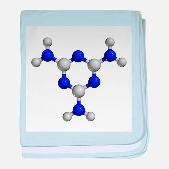 Melamine molecule - Baby Blanket