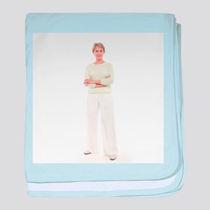 Senior woman - Baby Blanket