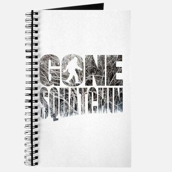 Gone Squatchin *Winter Woods Edition* Journal
