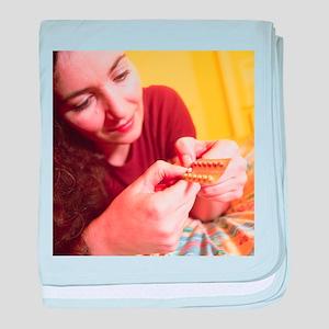 Contraceptive pills - Baby Blanket