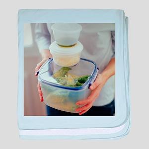 Salad ingredients - Baby Blanket