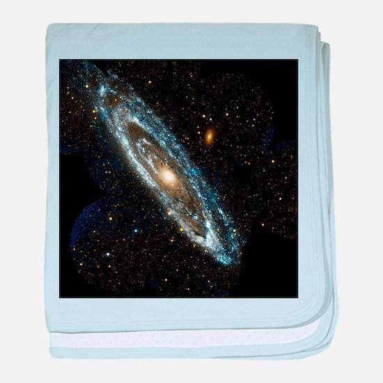 Andromeda Galaxy, UV image - Baby Blanket