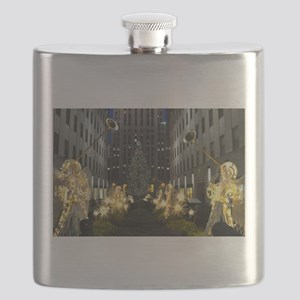 New York Holiday Flask