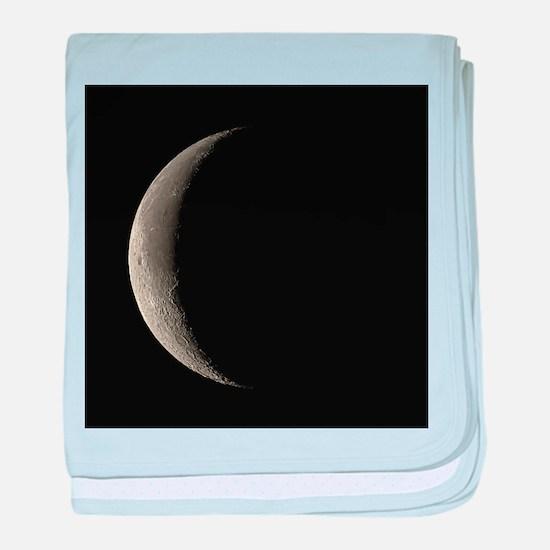 Waning crescent Moon - Baby Blanket