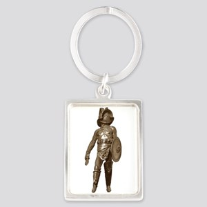 Italian Gladiator Portrait Keychain