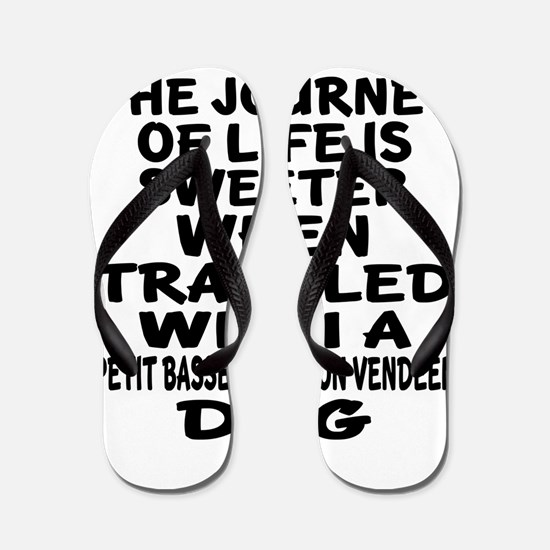 Traveled With petit basset griffon vend Flip Flops