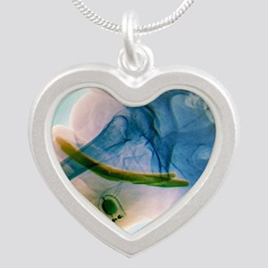 , X-ray - Silver Heart Necklace