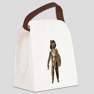 Italian Gladiator Canvas Lunch Bag