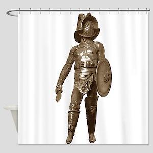 Italian Gladiator Shower Curtain