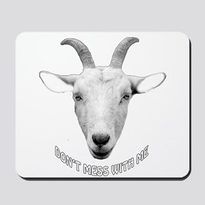 BUTT OUT GOAT Mousepad