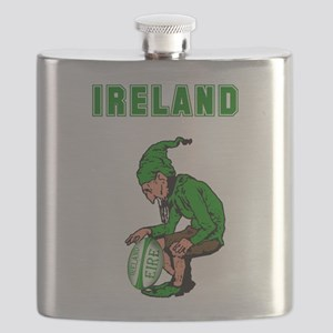 Irish Rugby Flask