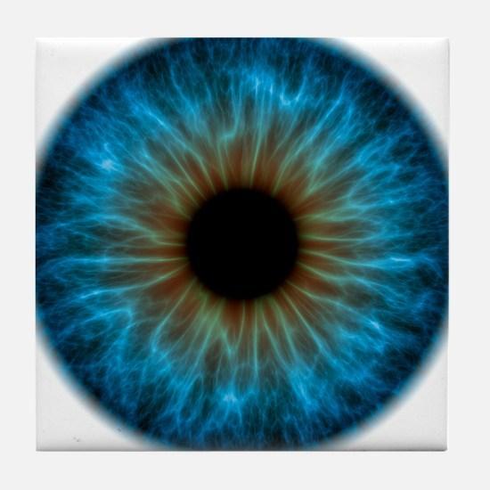 Eye, iris - Tile Coaster