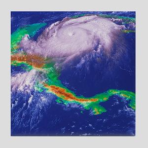 Hurricane Mitch - Tile Coaster