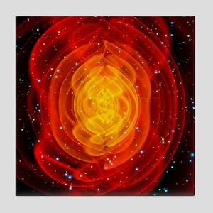 Merged black holes - Tile Coaster