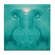Aqua Mermaids Tile