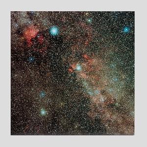 Milky Way in Cygnus - Tile Coaster