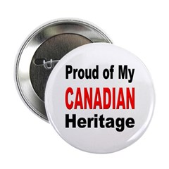 Proud Canadian Heritage Button