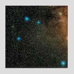 Sagittarius stars - Tile Coaster