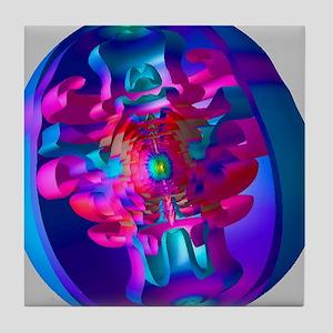 Supernova explosion - Tile Coaster