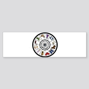 cute Zodiacsigns Bumper Sticker