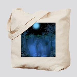 Old Graveyard Apparition Tote Bag