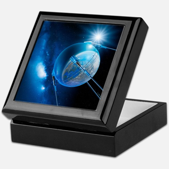 Sputnik 1 satellite - Keepsake Box