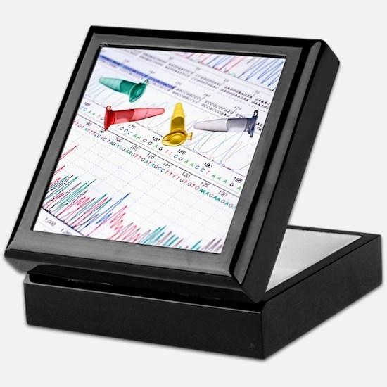 DNA analysis - Keepsake Box