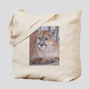 Posing Panther Tote Bag