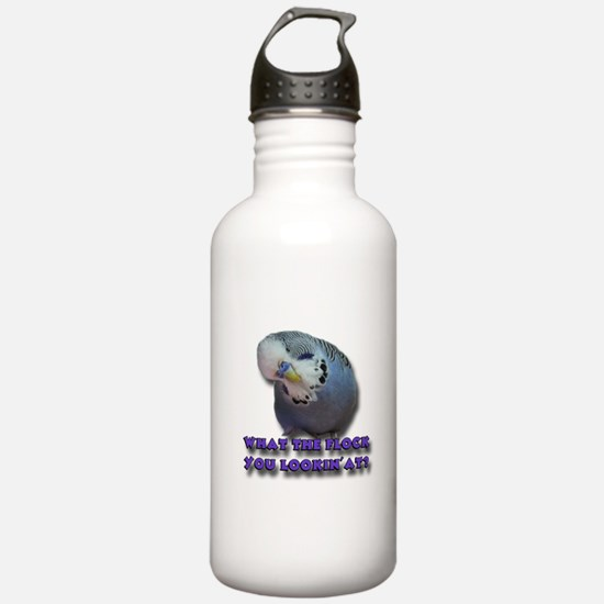 What the Flock You Lookin' At? Sports Water Bottle