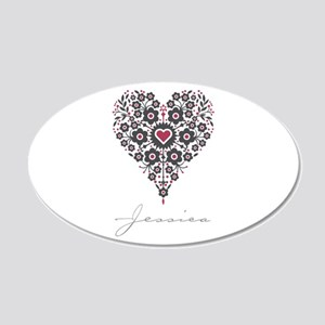 Love Jessica Wall Decal