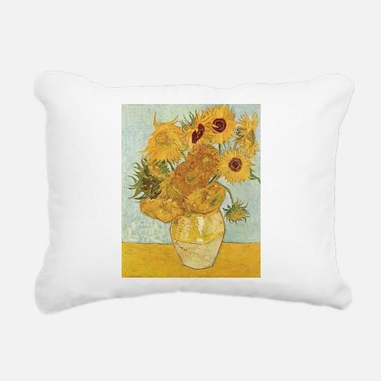Cute Oil painting Rectangular Canvas Pillow