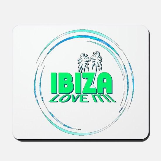 Ibiza I Love It Mousepad