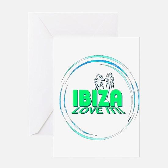 Ibiza I Love It Greeting Card