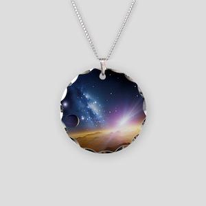 t, artwork - Necklace Circle Charm