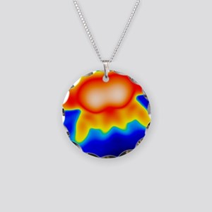 Spintronics research, STM - Necklace Circle Charm