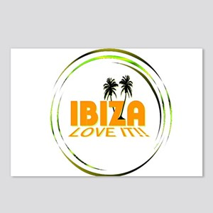 Ibiza I Love It Art Illustration Postcards (Packag