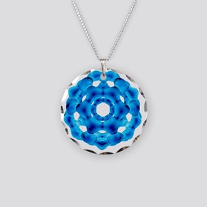 fullerene - Necklace Circle Charm