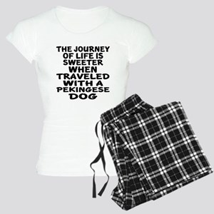 Traveled With Pekingese Dog Women's Light Pajamas