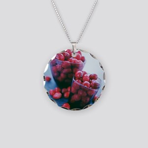 Cranberries - Necklace Circle Charm